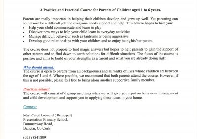 Parents Plus Early Years Programme001